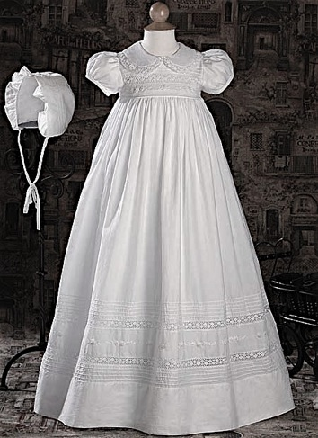 Bella Girls Christening Gown