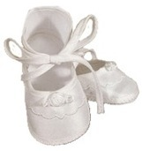 Christening Shoes Girl In Store Ipswich